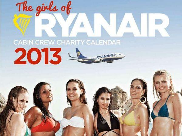 Il famosissimo calendario Ryanair