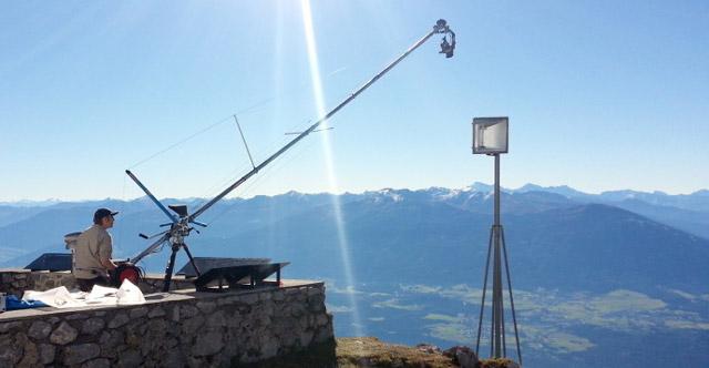 """Backstage del documentario """"Die schöne Stadt Innsbruck"""""""