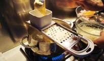 Spatzle con prosciutto cotto e grana 10