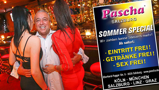 La locandina del sesso gratis a Salisburgo