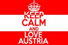 Keep calm - Love Austria